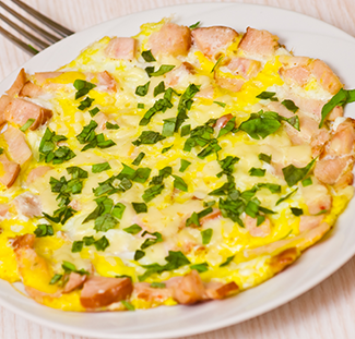 Chicken Omellette